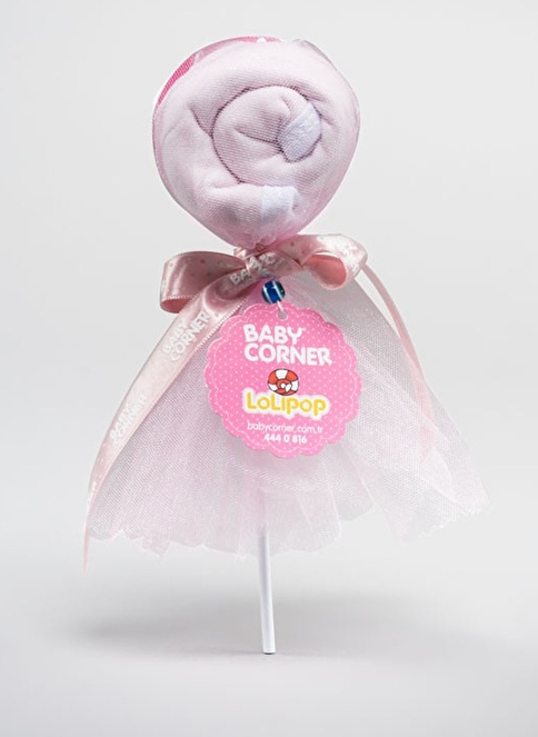 Baby Corner Mama Önlüğü Pembe